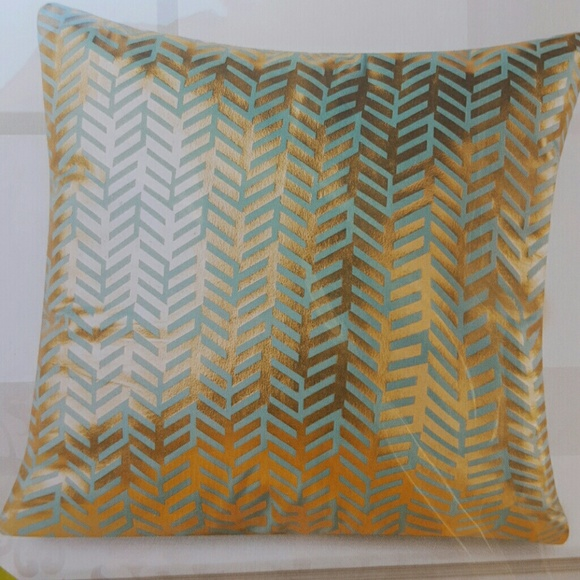 Hobby Lobby Other 40 Gold And Teal Pillow Decorative Pillow Covers Fascinating Hobby Lobby Decorative Pillows